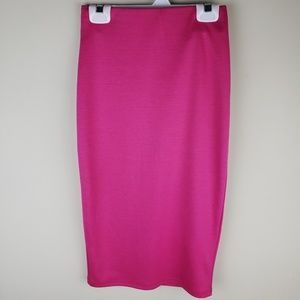 NWOT | Hot Gal | Pink Bodycon Pencil Skirt